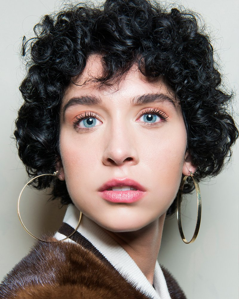 Mon Cher Mimosas- Curly Hair